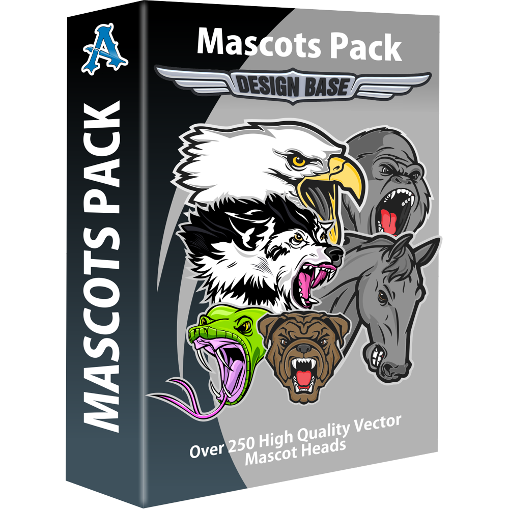 Design Base Mascots Pack