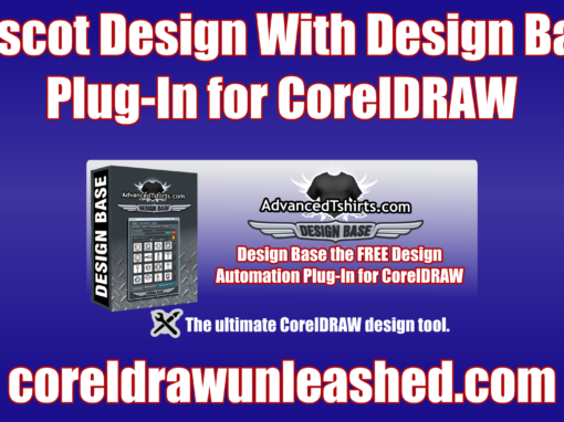 Mascot Design With Design Base Plug-In for CorelDRAW