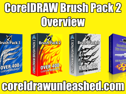 CorelDRAW Brush Pack 2 Overview