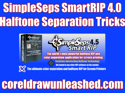 SimpleSeps SmartRIP 4.0 Halftone Separation Tricks